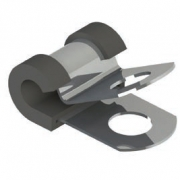 Steel Clamp with Rubber Cushion